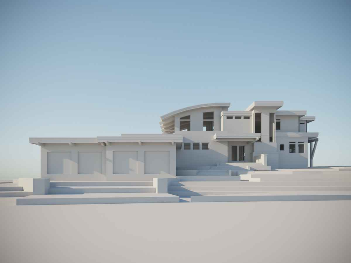 3d Model & Rendering for Prairie House